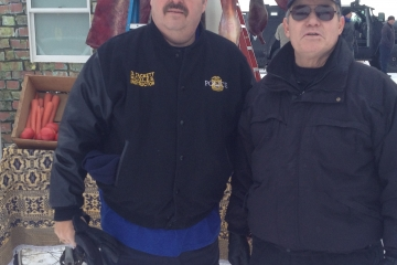 Chief Tackett and Chief Bob Poole